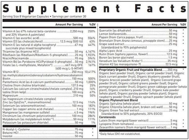 Ultra Preventive® X Vcaps