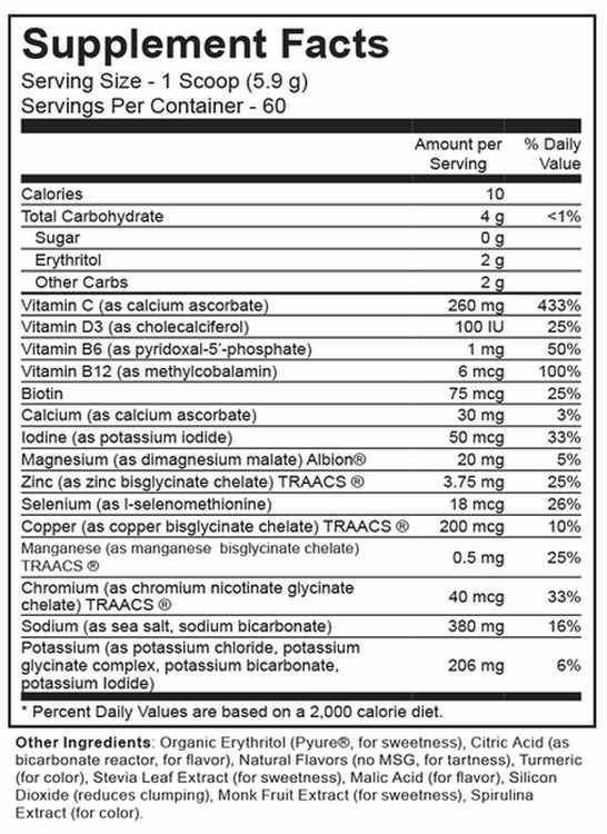 Electrolyte Supreme Lemon Lime